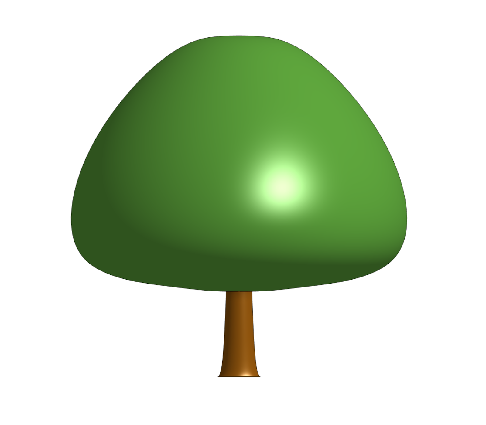 An ideal representative of a tree for PWC