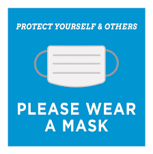 "24"" x 24"" PVC Sign – Please Wear A Mask"