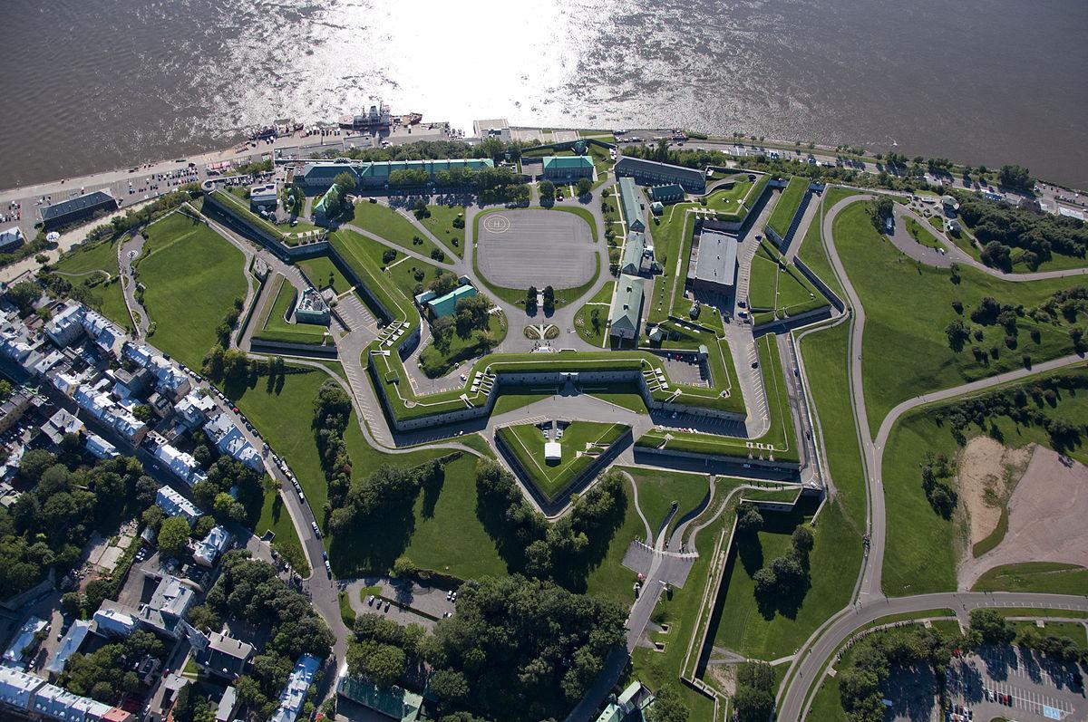 Citadella de Quebec, lugar estrategico
