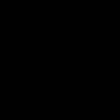Marke 7 mit einfarbiger Füllung