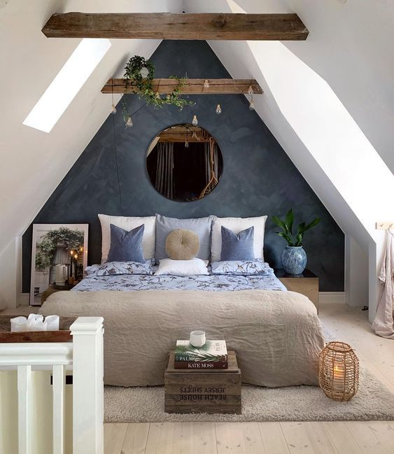Remodel Your Narrow Master Bedroom with Blue Moon Inspiration