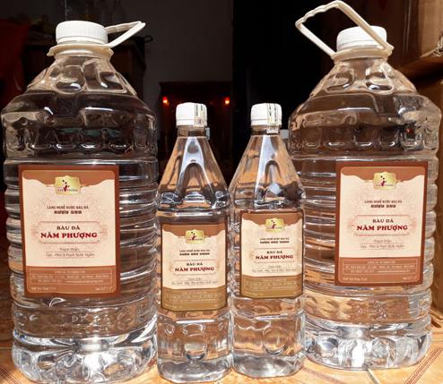 Rượu bàu đá một sản phẩm truyền thống của Bình Định