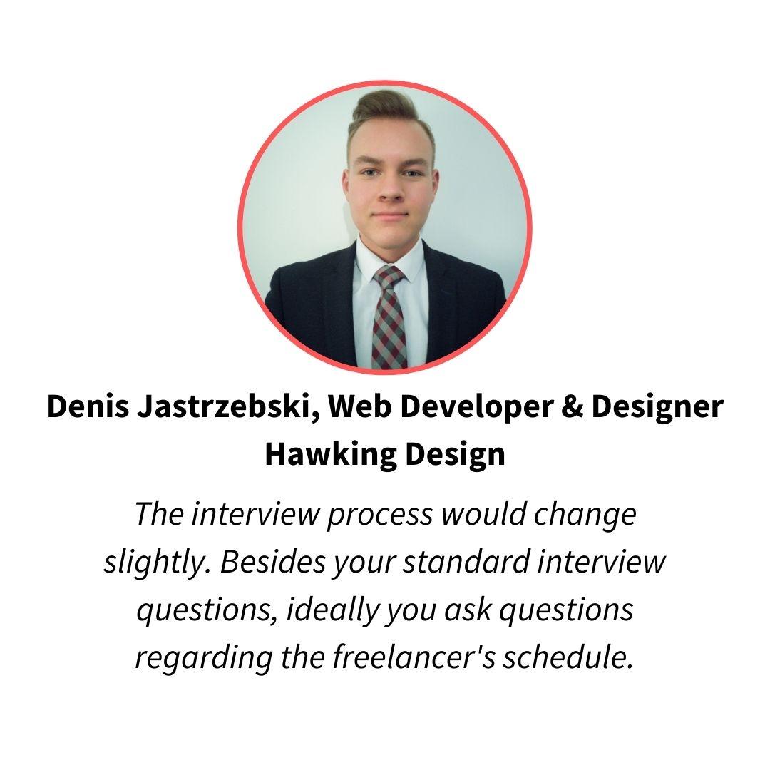 denis jastrzebski, web developer and designer