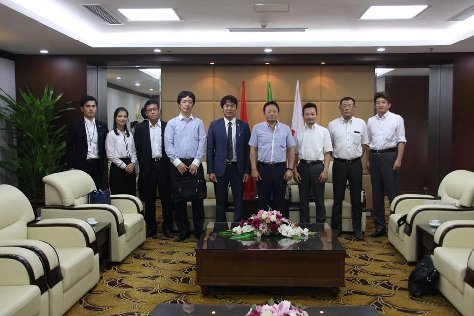 công ty CEO xuất khẩu lao động Nhật Bản gặp gỡ đối tác Nhật Bản