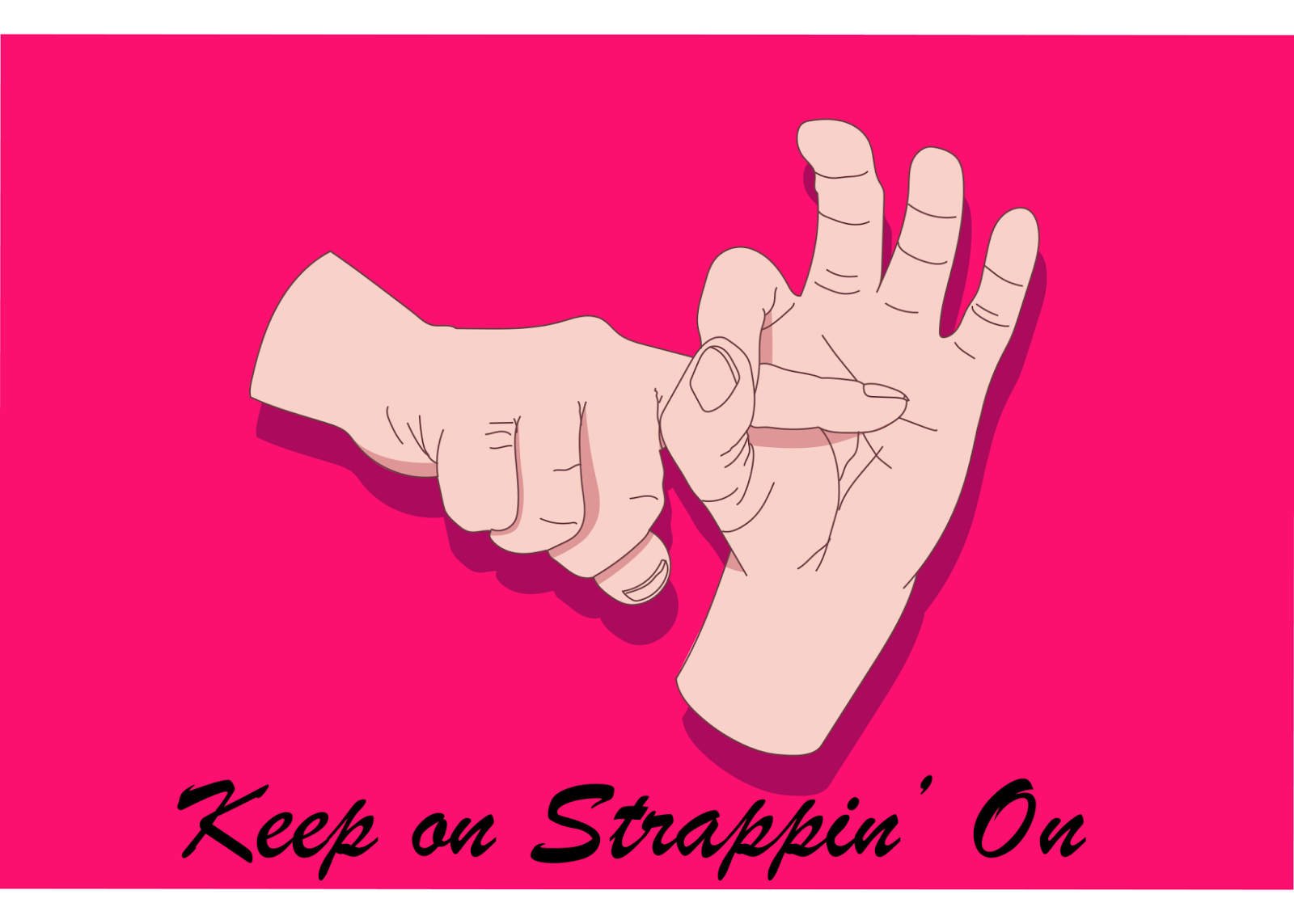 Keep on Strappin' on is a monthly meme dedicated to strapons