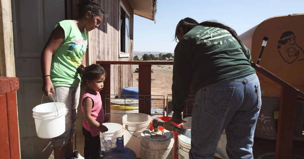 The colony still to this day deprives the Navajo Nation of access to clean water