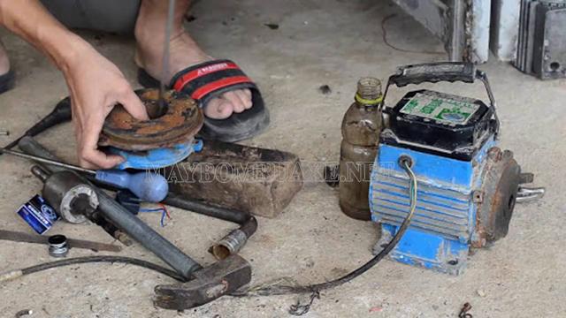 Nguồn điện ảnh hưởng trực tiếp đến sự hoạt động của máy bơm