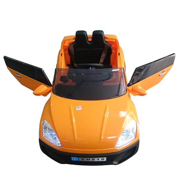 xe ô tô điện trẻ em YH-810 màu vàng sang chảnh