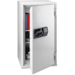 Sentry Safe 8771: Fire-Safe S8771 Commercial Safe 5.80 ft3 2 Shelve s Electronic, Key Lock 5 Live-locking Bolt s Internal Size 38.62 x 18.70 x 13.82 Overall Size 47.6 x 25.4 x 23.9 Light Gray