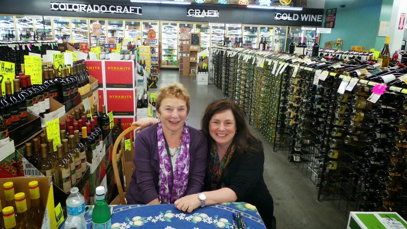 Frances Mayes & Kathleen DeCosmo ( Katie Shea Design)  Shot with a Samsung Galaxy Camera #VZWBuzz by Katie Shea Design
