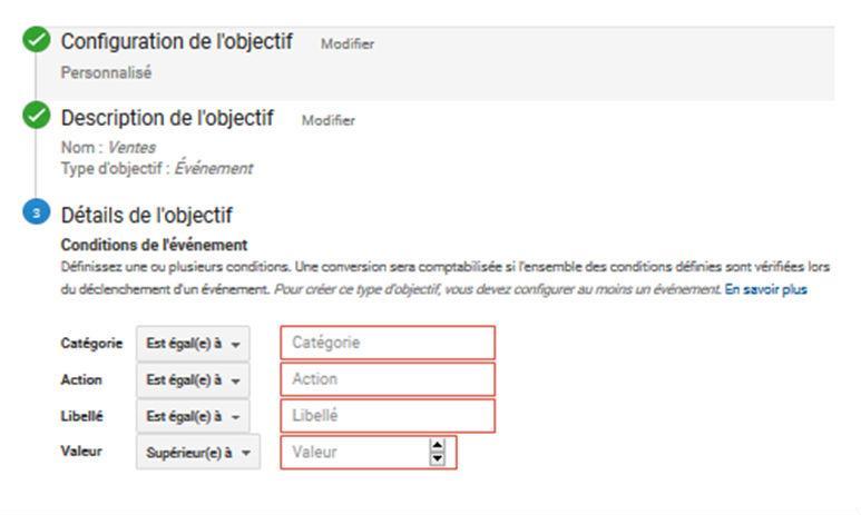 Image paramètrer Google Analytics