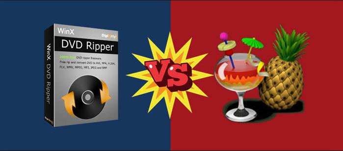Handbrake vs WinX DVD Ripper