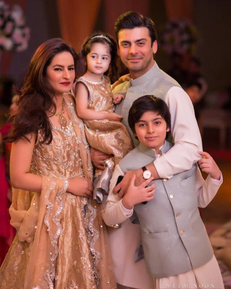 Image result for fawad khan and his family