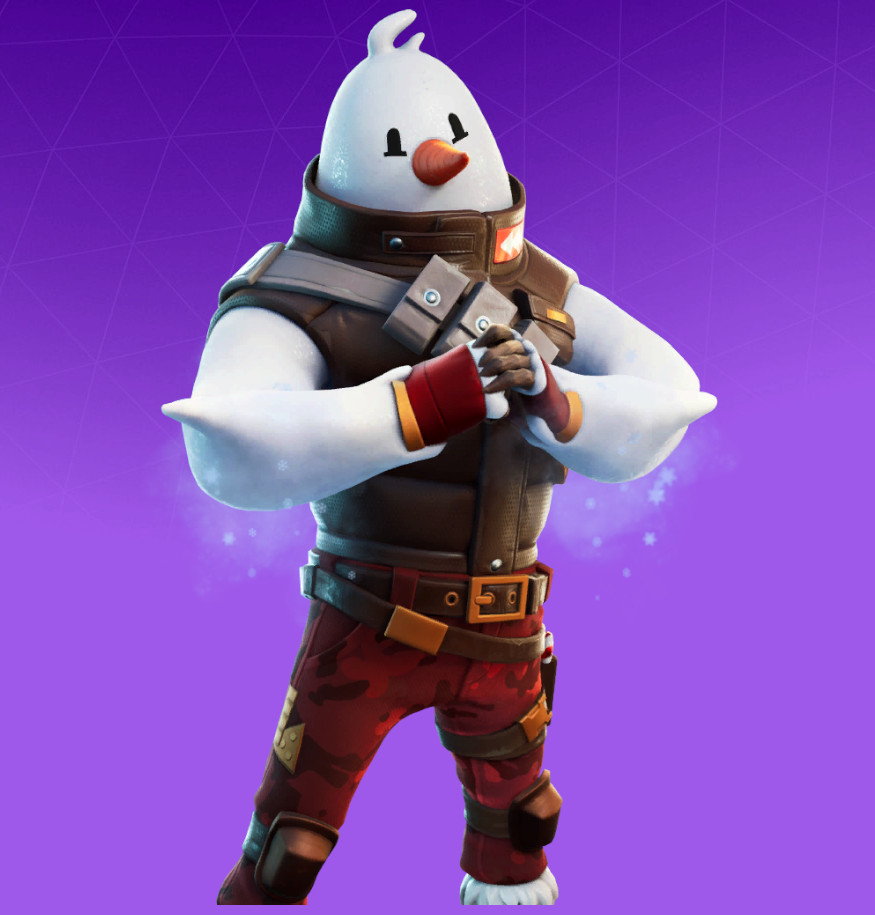 Snowmando skin