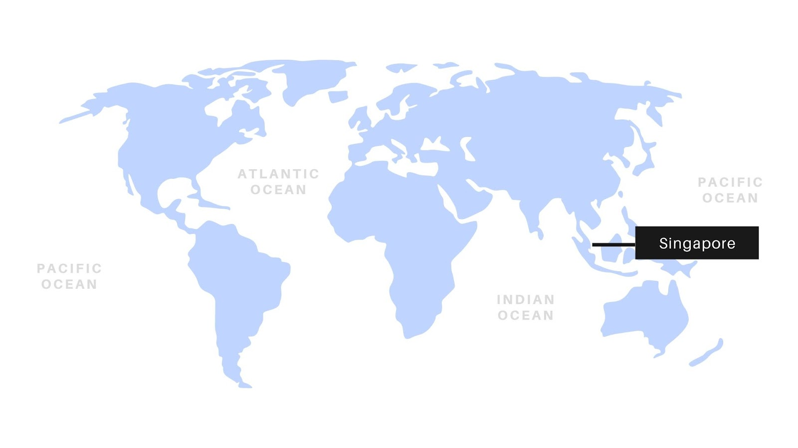 Setting up an offshore company in Singapore: Singapore on the world map