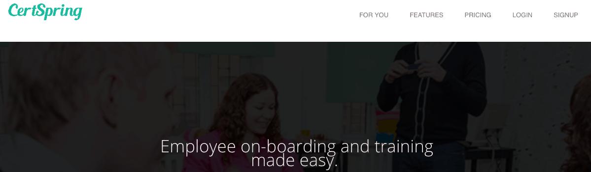 Certspring HR - Employee onboarding app