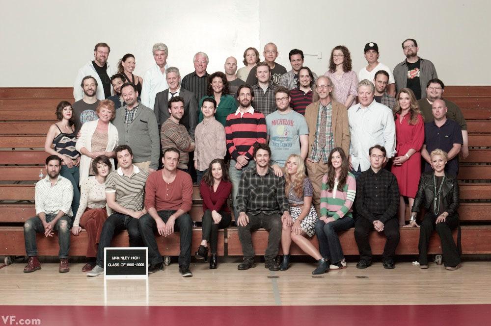Reunião do elenco Freaks and Geeks em 2012