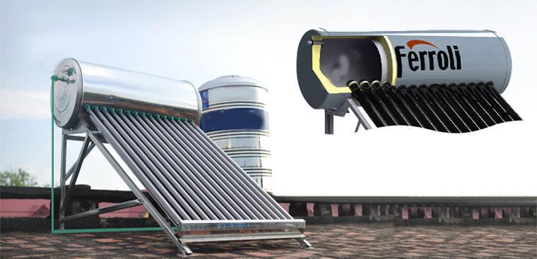 Lớp cách nhiệt trong máy nước nóng năng lượng mặt trời là gì