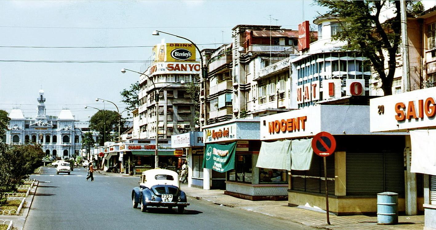 60 tấm ảnh màu đẹp nhất của đường phố Saigon thập niên 1960-1970 - 26