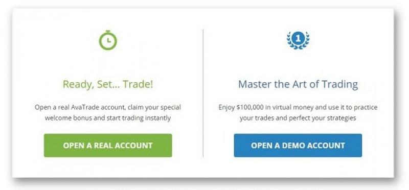 Счета на платформе AvaTrade
