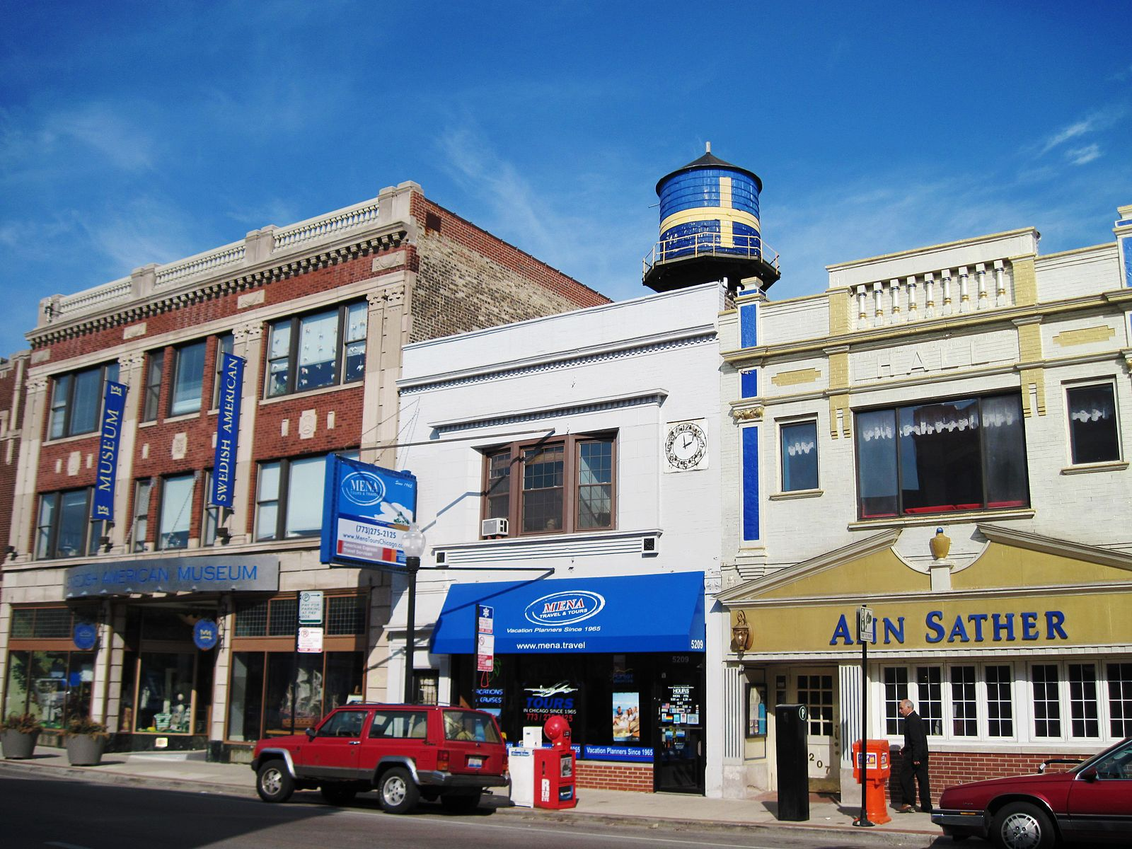 Enjoy the many shops and activities of Edgewater Chicago.