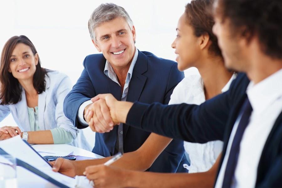 reunión de negocios exitosa