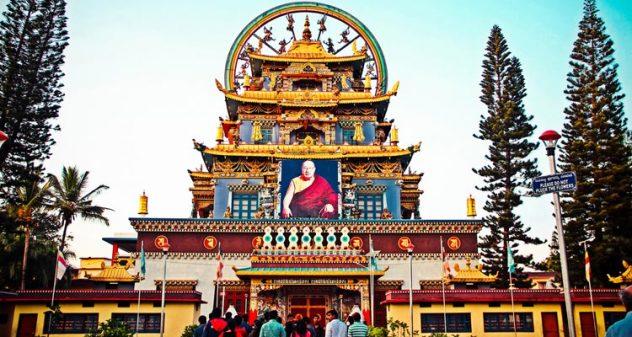 Coorg, Karnataka - Things To Do- tibetian golden monastery