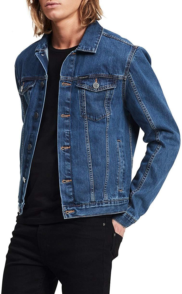 Calvin Klein Jeans Men's Denim Trucker