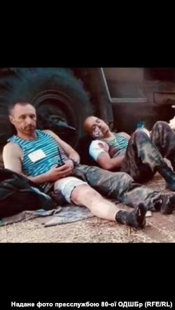 Поранений полковник Володимир Шворак