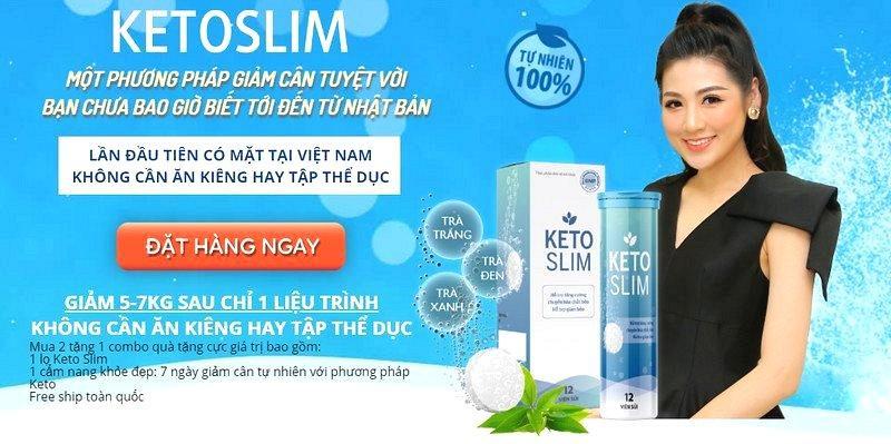 Viên sủi Keto Slim giảm cân có khó uống hay không?