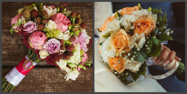 Как сделать букет невесты своими руками: декор