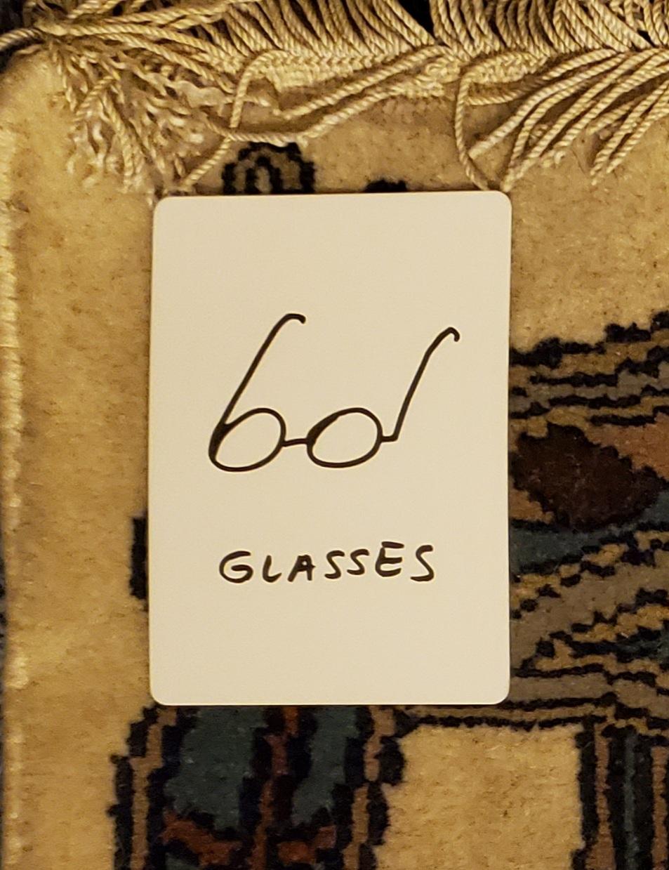 glasses tarot card