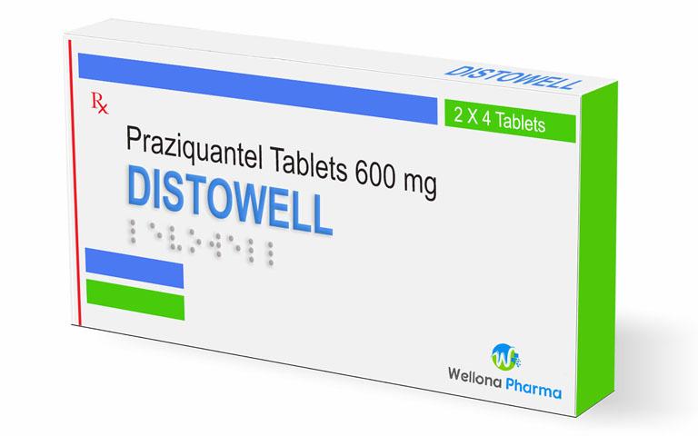 Praziquantel - Thuốc điều trị sán máng phổi