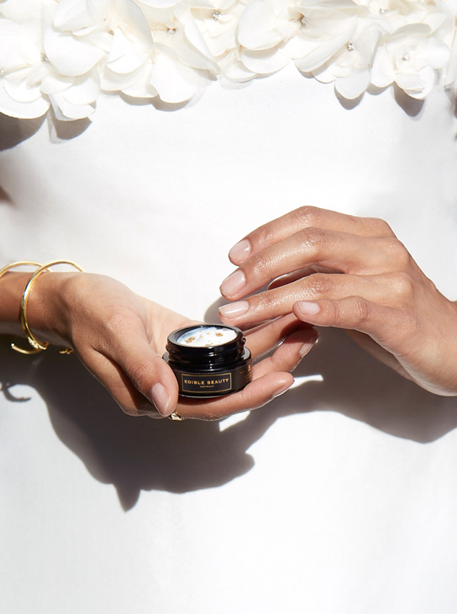 ageless skin care - Edible Beauty Gold Rush Eye Balm