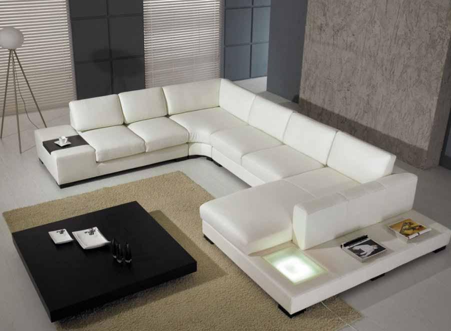Thiết kế sofa góc dài thích hợp cho phòng khách lớn