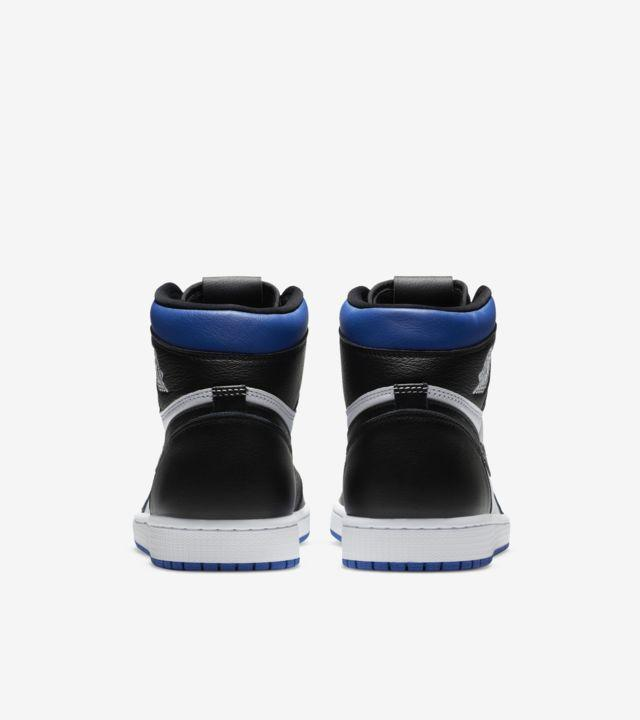"""Nike Air Jordan 1 Retro High OG Royal Toe"" รองเท้าที่ขายหมดไวเพราะซีรีส์ The Last Dance 04"