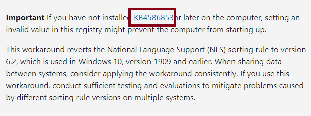 First Find out the latest windows update