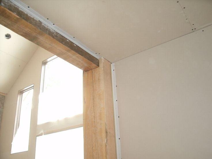 Уменьшение дверного проема при помощи бруса