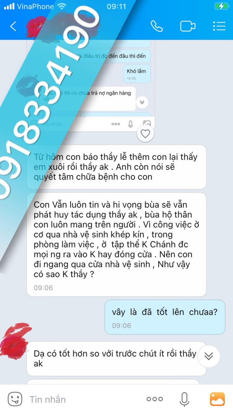 Thầy bùa yêu ở Bình Phước nổi tiếng
