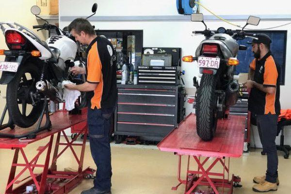 Motorcycle Maintenance Course | Gold Coast | Top Rider
