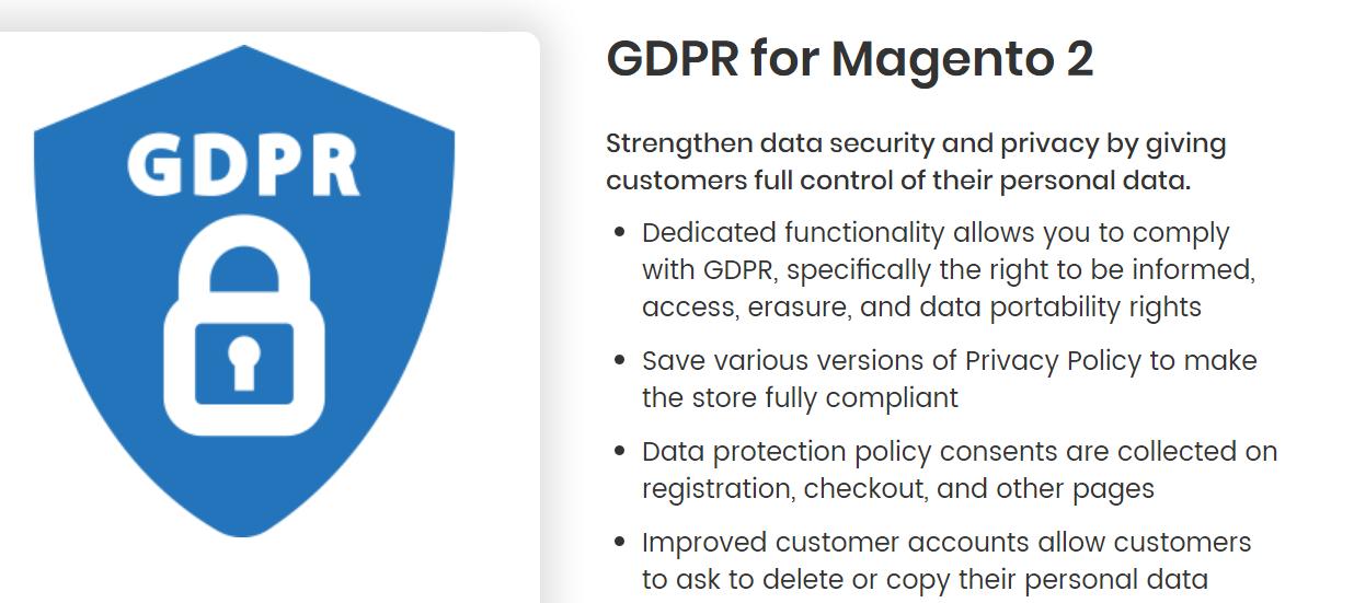 GDPR for Magento 2