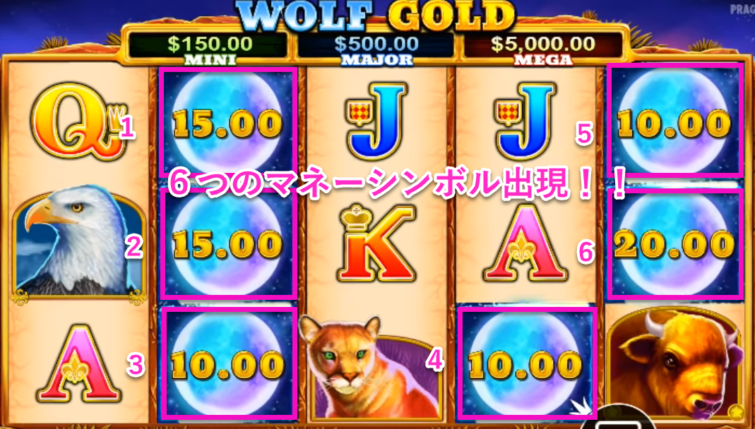 WOLF GOLD luckyniki