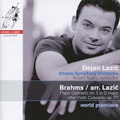 Brahms: Piano Concerto No. 3 in D Major after Violin Concerto, Op. 77