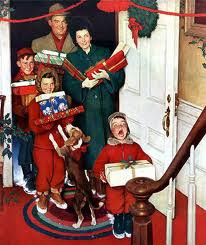 Merry Christmas, Grandma Norman Rockwell