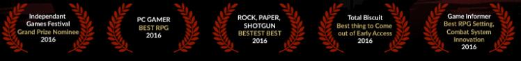 Darkest Dungeon Ödülleri