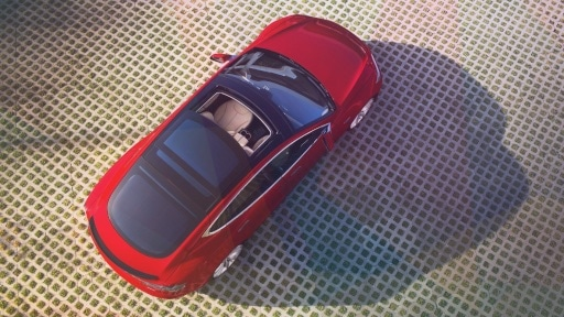 tesla-model-s-rouge