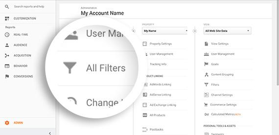 Google Analytics à l'exclusion de votre adresse IP