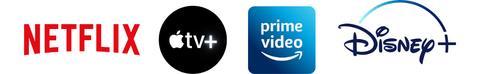Netflix Disney+ Apple Tv+ Prime Video La Galerie Officielle