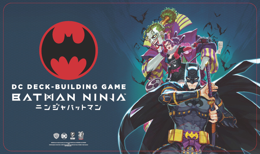 DC Deck-Building Game Crossover Pack 8: Batman Ninja - Playmat