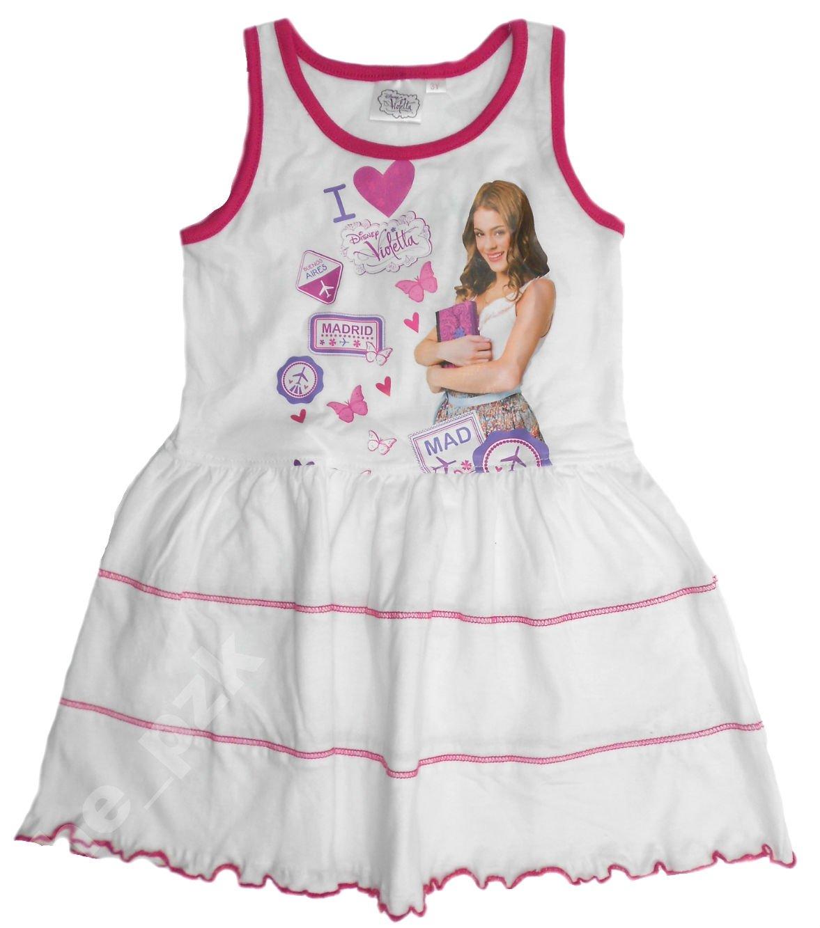 Sukienki dla dziewczynek w stylu Violetty